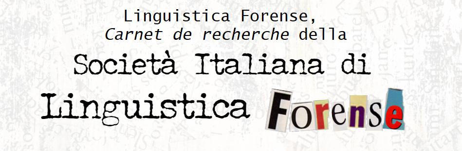 Linguistica Forense